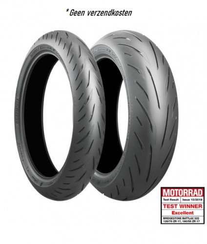 Bridgestone Battlax set S22